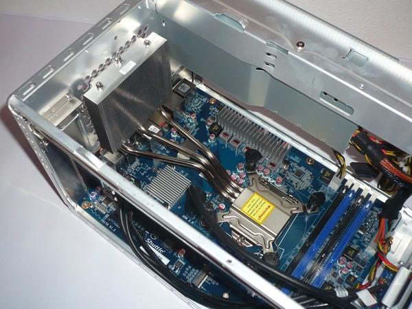 081-shuttle-sh170r6-foto-minipc-installazione-componenti-cpu-fissaggio-dissipatore