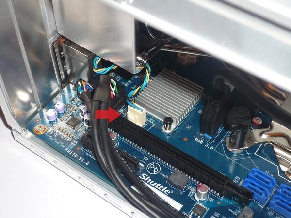 084-shuttle-sh170r6-foto-minipc-installazione-componenti-cpu-collegamento-ventola