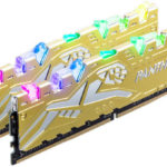 Apacer Panther Rage Gold RGB DDR4 16GB 3.200MHz CL16 Dual-Channel Kit [EK.16G21.GJMK2]