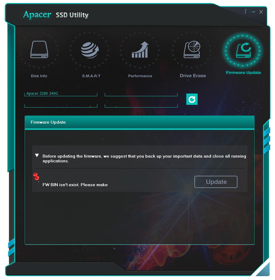 029-apacer-z280-ssd-pcie-screeen-sw-gestione-ssd-utility-firmware-update