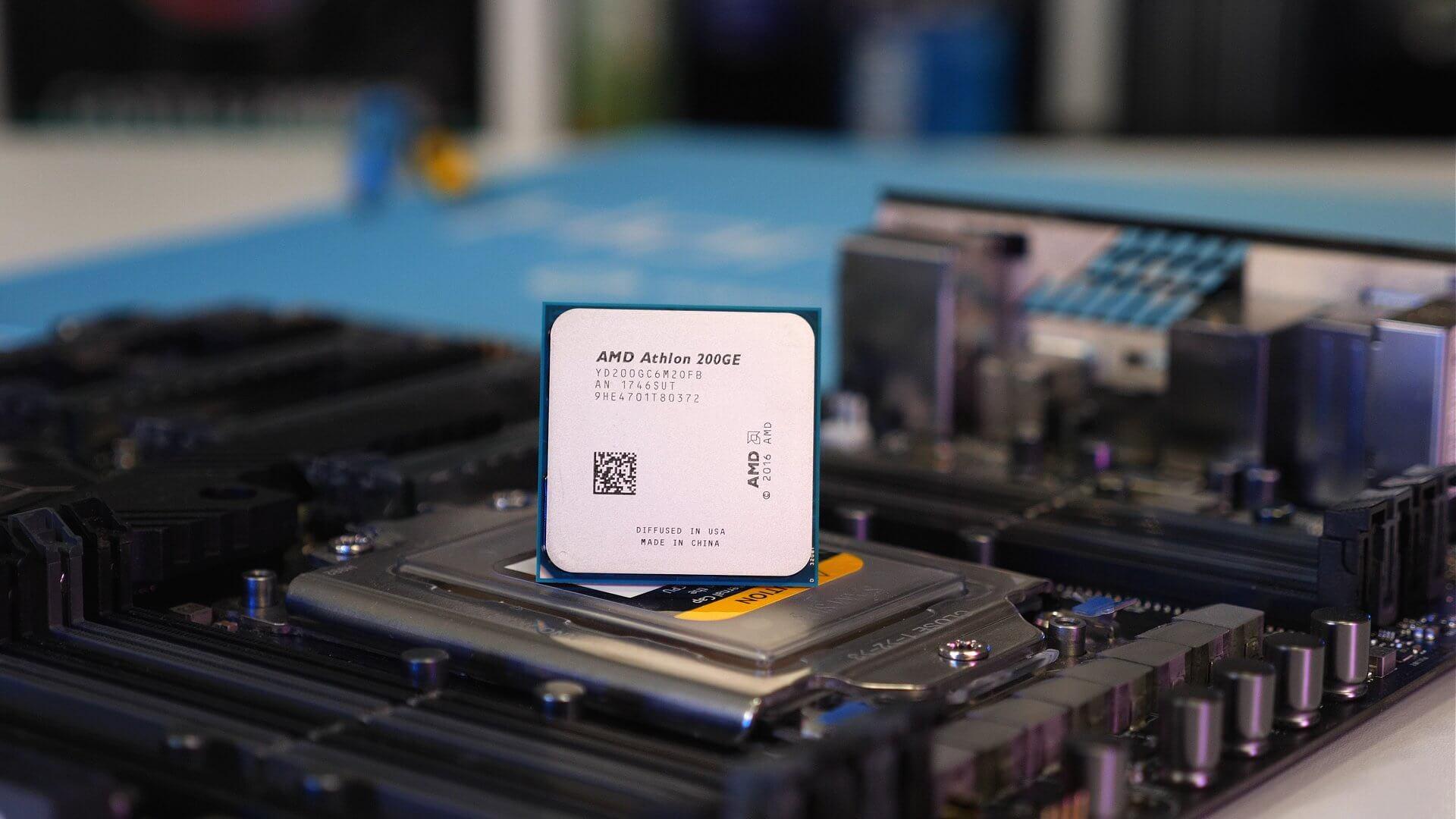presa di fabbrica aspetto estetico informazioni per Ufficialmente disponibili le nuove CPU AMD Athlon 220GE e ...