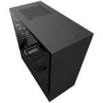 NZXT H500 Matte Black Mid-Tower [CA-H500B-B1] e HUE 2 RGB Lighting Kit [AC-HUEP2-M1]