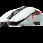 Riotoro Aurox White Prism RGB Ultra Precision Gaming Mouse