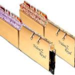 G.Skill svela i nuovi kit di memorie da 64 GB DDR4-4300 CL19 e DDR4-4000 CL16 di Trident Z Royal