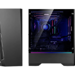 Antec Dark Phantom DP501: Gaming Chassis minimalista
