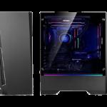 Antec Dark Phantom DP501: Gaming Chassis minimalista