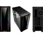 Sharkoon ELITE SHARK CA200G Mid-Tower e SHARK Blades RGB Fan & Strip