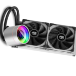 DeepCool Gamer Storm CASTLE 240EX WHITE – CPU AIO Liquid Cooler [DP-GS-H12W-CSL240EXWH]