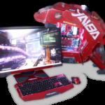 """Svelato il monitor """"ViewSonic XG2705 Cyberpunk 2077 Yaiba Kusanagi"""" by Mayhem Modz!"""