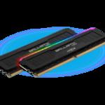 Crucial Ballistix MAX RGB DDR4 32GB 4.400MHz CL19 Dual-Channel Kit [BLM2K16G44C19U4BL]